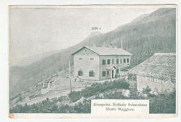 Učka Monte Maggiore Kronprinz. Stefanie Schutzhaus Old Advertising Card B190220 - Croazia
