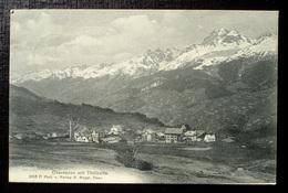 OBERSAXEN Mit Tödikette Photo U. Verlag M. Maggi Ilanz - GR Grisons