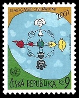 (245) Czech Republic / Ceska  Dialogue Of Civilisations / Rare / Scarce  ** / Mnh  Michel 307 - Tchécoslovaquie