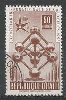 Haiti 1958. Scott #417 (U) Universal And International Exposition, ''Atomium'' * - Haïti