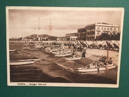 Cartolina Cattolica - Spiaggia Lato Sud - 1949 - Rimini