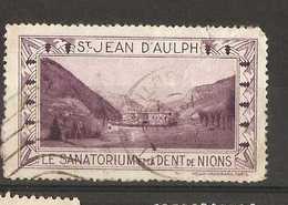 France  - Tourist Publicity For St Jean D'Aulph - Tourism (Labels)
