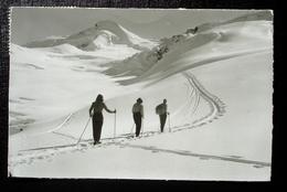 SAAS-FEE Ski-Aufstieg Vom Berghaus Langefluh Allalinhorn - VS Valais