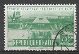 Haiti 1958. Scott #418 (U) View Of Brussels Exposition * - Haïti