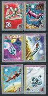 Espace, Satellite,Base Lunaire.. - Lot De 6 Timbres - Guinée Equatoriale