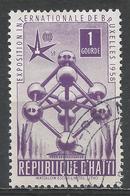 Haiti 1958. Scott #419 (U) Universal And International Exposiition, ''Atomium'' * - Haïti