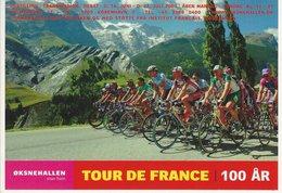 Tour De France 100 Years. Danish Card. B-3558 - Cycling
