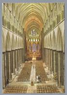 UK.- WILTSHIRE. SALISBURY CATHEDRAL The Nave From The Clerestory At The West End. - Salisbury