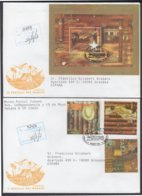 2002-FDC-36 CUBA FDC 2002. REGISTERED COVER TO SPAIN. FESTIVAL DEL HABANO, TABACO, TOBACCO. - FDC