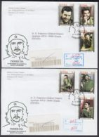 2002-FDC-55 CUBA FDC 2002. REGISTERED COVER TO SPAIN. 35 ANIV MUERTE ERNESTO CHE GUEVARA. - FDC