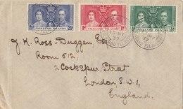 FALKLAND ISLANDS 1937 Cover To ENGLAND.BARGAIN.!! - Falklandeilanden