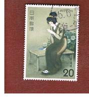 "GIAPPONE  (JAPAN) - SG 1349  -   1974 PHILATELIC WEEK: ""FINGER""- USED° - 1926-89 Imperatore Hirohito (Periodo Showa)"