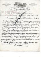 52 - Haute-marne - MONTORMENTIER - Facture LA ZAOUÏA WALTER - Vins - 1913 - REF 268C - Factures & Documents Commerciaux