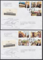 2004-FDC-31 CUBA FDC 2004. REGISTERED COVER TO SPAIN. JOSE MARTI, HOMBRE UNIVERSAL, INDEPENDENCE WAR. - FDC