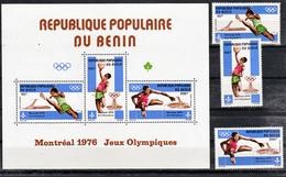 Benin PA 251/253 BF 23 Montreal 76 Neuf **TB  Mnh - Togo (1960-...)