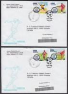 2004-FDC-39 CUBA FDC 2004. REGISTERED COVER TO SPAIN. CENT DE LA FIFA, FUTBOL, SOCCER. - FDC