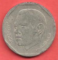 2 Dirhams , MAROC , Cupro-Nickel , AH 1423 , 2002 , N° Y # 118 - Maroc