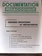 Documentation Pedagogique 8 Fiches Grandes Inventions Et Decouvertes - Histoire