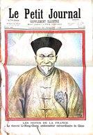 VIEUX PAPIERS CHINE LE PETIT JOURNAL LES HOTRS DE LA FRANCE LE VICE-ROI LI-HUNG-CHANG AMBASSADEUR  VOIR IMAGES - Old Paper
