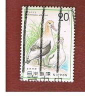 GIAPPONE  (JAPAN) - SG 1377  -   1975  BIRDS: DIOMEDEA ALBATRUS  - USED° - 1926-89 Imperatore Hirohito (Periodo Showa)