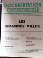 Documentation Pedagogique 8 Fiches Grandes Villes Londres Chicago Sao Paulo Le Caire Paris Canton - Histoire