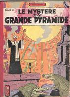 Jacobs Le Mystère De La Grande Pyramide Tome II  1954 - Jacobs E.P.