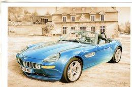 BMW Z8  -  Tableau De Francois Bruère  -  Art Card  -  CPM - Voitures De Tourisme