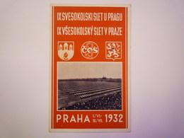 2019  (604)  PRAHA  1932  X - Czech Republic