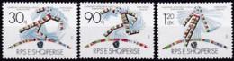 Albanien 1990, 2438/40, Fußball-Weltmeisterschaft 1990, Italien. MNH ** - Albanie