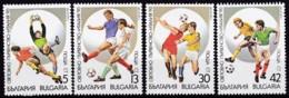 Bulgarien, 1989, 3795/98, Fußball-Weltmeisterschaft 1990, Italien. MNH ** - Bulgarien