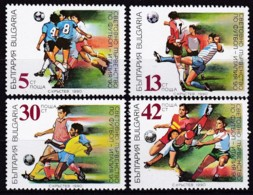 Bulgarien, 1990, 3825/28, Fußball-Weltmeisterschaft 1990, Italien. MNH ** - Ungebraucht