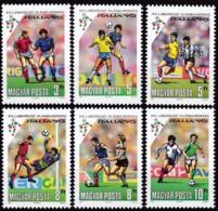 Ungarn, 1990, 4087/92 A, Fußball-Weltmeisterschaft 1990, Italien. MNH ** - Ungebraucht