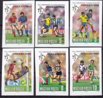 Ungarn, 1990, 4087/92 B, Fußball-Weltmeisterschaft 1990, Italien. MNH ** - Ungebraucht