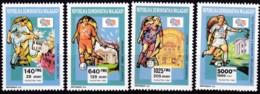 Madagaska, 1992, 1399/02 A,, Fußball-Weltmeisterschaft 1994, MNH ** - Madagaskar (1960-...)