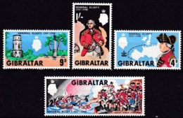 Gibraltar, 1967, 207/10, General George Augustus Eliott. MNH ** - Gibraltar