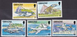 Gibraltar, 1978, 378/82, Königliche Luftstreitkräfte (Royal Air Force). MNH ** - Gibraltar