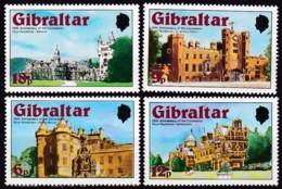 Gibraltar, 1978, 373/77, 25. Jahrestag Der Krönung Von Königin Elisabeth II.: Königsschlösser. MNH ** - Gibraltar