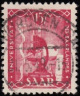 SAAR - Scott #203 Saar University / Used Stamp - Used Stamps