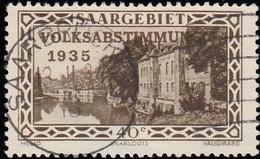 SAAR - Scott #144 Scene From Saarlouis Fortifications / Used - Used Stamps