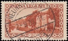 SAAR - Scott #122 View Of Saar Valley / Used - Used Stamps