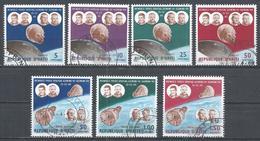 Haiti 1966. Scott #544-7, C263-5 (U) Space Rendez-vous Of Gemini VI And VII ** Complet Set - Haïti