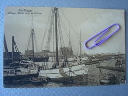 ZEEBRUGGE : Bâteaux Pilotes Près De L'écluse En 1910 - Zeebrugge