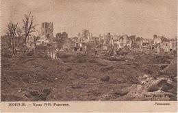 CPA - AK Ypres Ypern Ieper Panorama Bataille L' Yser Guerre Destruction Weltkrieg WWI 1914 Militaire Militär A Kortrijk - Ieper