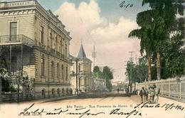 Sao Paulo - 1903 - Rue Florencio De Abreu II - Brésil Brasil - Belle Animation - São Paulo