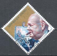 Haiti 1968. Scott #603 (U) Winston Churchill As Painter * - Haïti