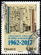 Oblitération Cachet à Date Sur Timbre De France N° 5133 - Cessez Le Feu En Algérie - Used Stamps