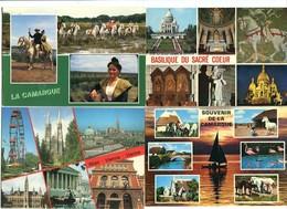 Lot De 50 CPM Multivues Avec Chevaux - Cartes Postales