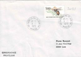 TP N° 2039 Seul Sur Enveloppe De St Lö-Val St Jean - 1961-....