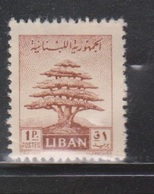 LEBANON Scott # 248 MH - Some Missing Gum - Lebanon