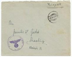 H828 - FELDPOST N° 18273 Du 04 Mai 1942 Pout STRASSBURG En ALSACE - - Allemagne